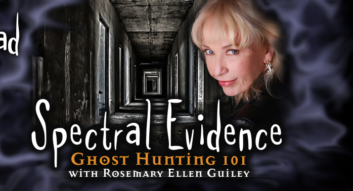 Spectral Evidence: Ghost Hunting 101